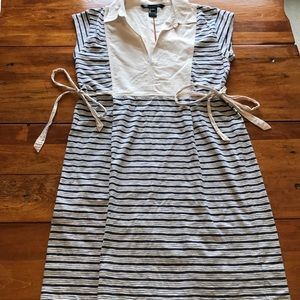 Marc by Marc Jacobs Cotton Striped Dress
